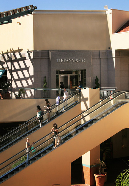 San Diego Shopping, Fashion Valley Shoppers