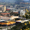 Mission Valley San Diego, View on Shopping Areas and Hotels