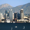 San Diego, California, Views on Skyline