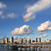 San Diego Skyline, Winter View from Coronado