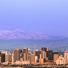 San Diego Skyline, View on City in Winter
