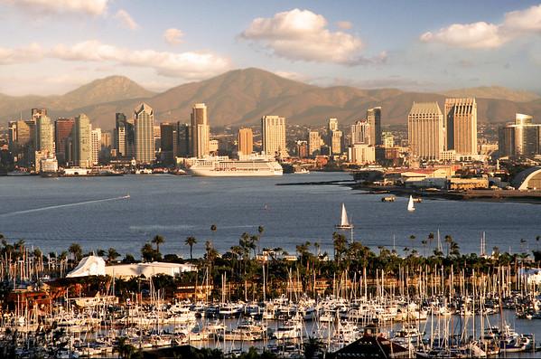 Skylines of San Diego