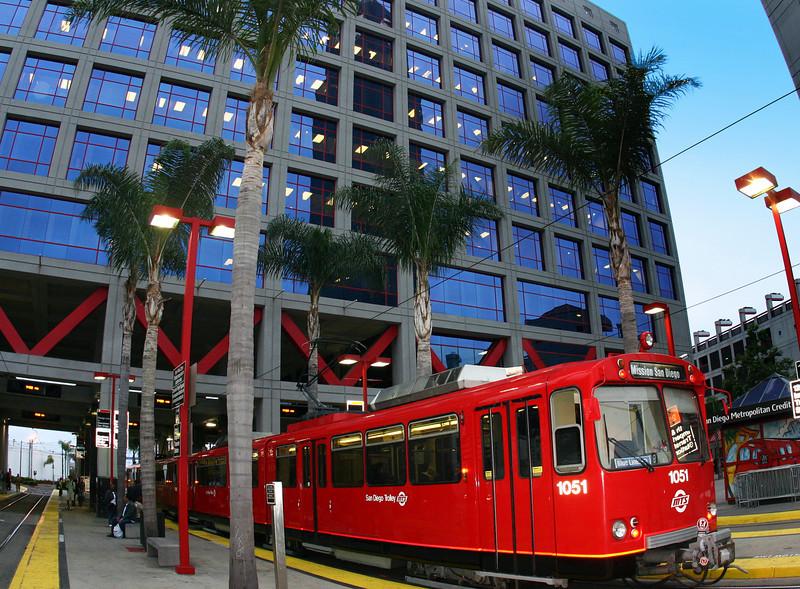 San Diego Trolley, 12th Street Station