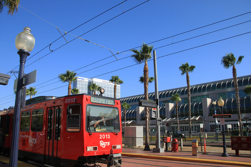 San Diego Downtown, Trolley & Convention Center