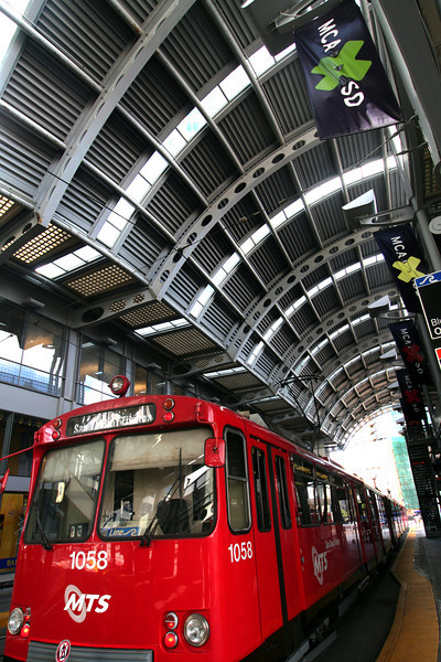 San Diego Trolley, America Plaza Hub