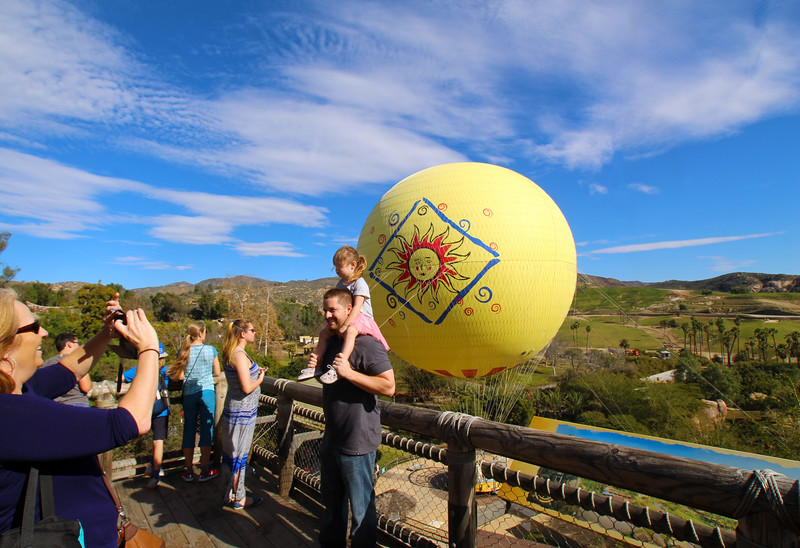 San Diego Safari Park,  Balloon Safari