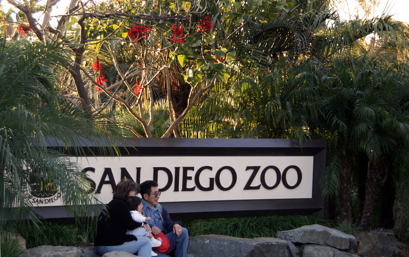 San Diego Zoo, Entrance Sign