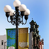 San Diego Gaslamp Quarter, Banners & Buildings