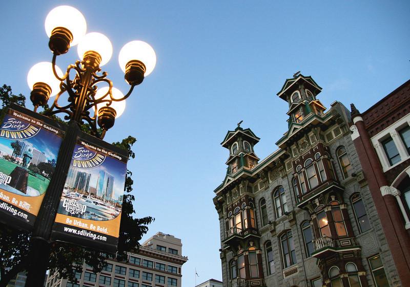 San Diego Gaslamp Quarter-Gaslamp & Buildings