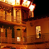 San Diego Gaslamp Quarter Romantic Night Scene