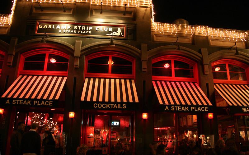 San Diego Gaslamp Quarter Outdoor Diners