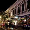 San Diego Gaslamp Quarter Mardi Gras Dining & Revelers