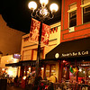 San Diego Gaslamp Quarter Evening Diners