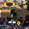 San Diego Gaslamp Quarter Sign View