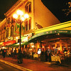 San Diego Gaslamp Quarter Evening Scene