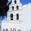 Mission Basilica de Alcala San Diego Bell Tower
