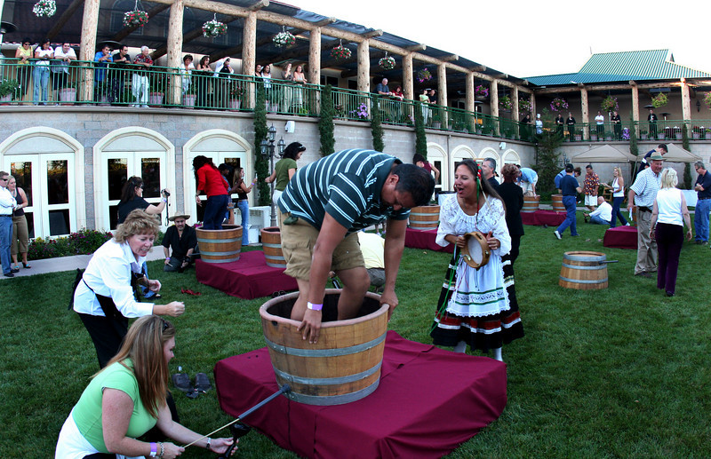 Grape Stomp at South Coast Winery in Temecula
