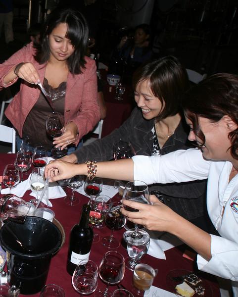 Wine Mixing, Wilson Creek Winery in Temecula