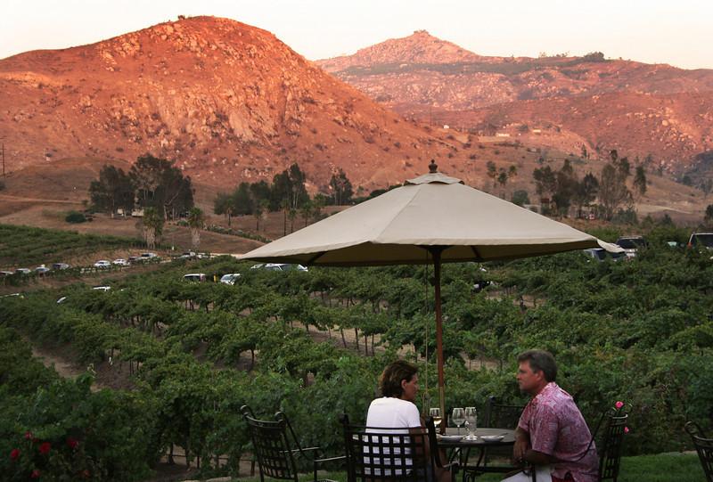 Winetasting, Orfila Winery Escondido