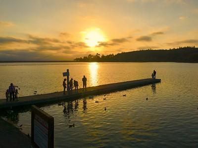 Bikee Sunset