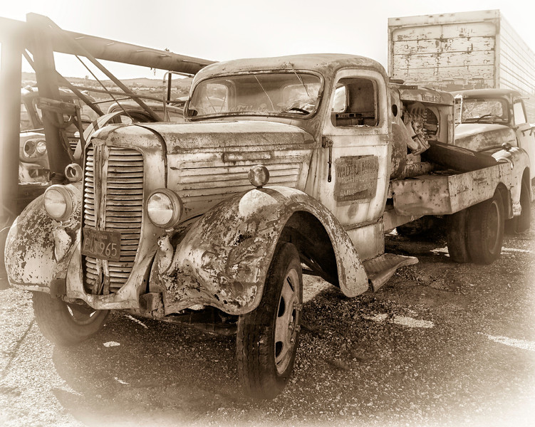 Truck waiting to be restored
