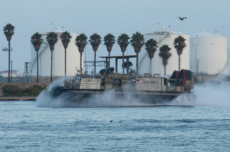 Navy Landing Craft from North Island