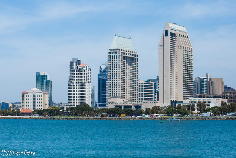 San Diego from the ferry