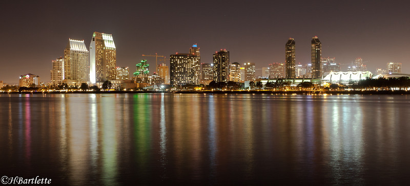Evening calm, San Diego
