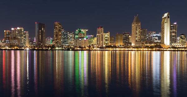 San Diego City from Coronado