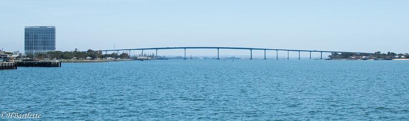 Coronado bridge from the ferry