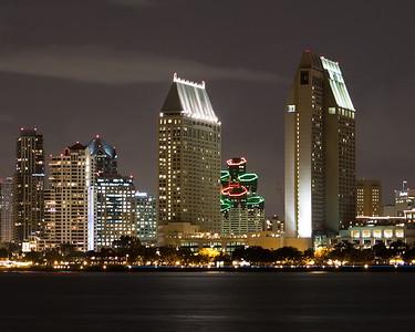 San Diego across the bay