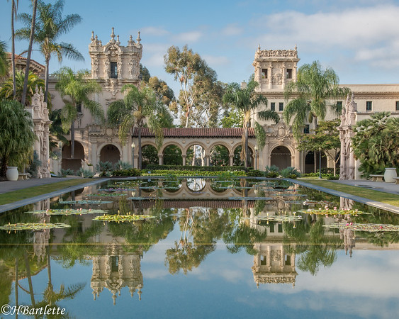 Reflecting Pool Balboa Park  San diego
