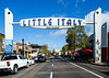Little Italy, downtown San Diego