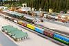 Short Track model train