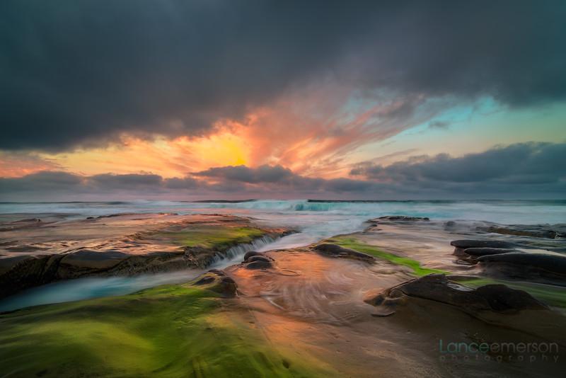 La Jolla Tidepools Sunrise