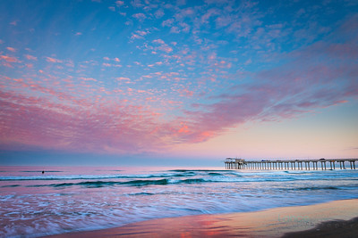 Surfing Sunrise by Lance Emerson Photography (1 of 1)