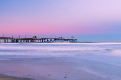 I B  Pier Sunrise Wave (1 of 1)