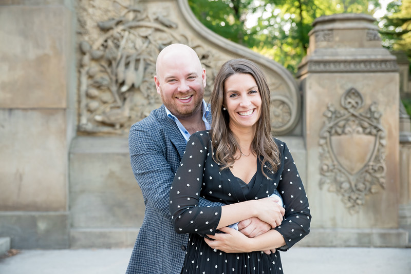 Bethesda Terrace Central Park New York Wedding Engagement Photographer - Rachel McFarlin Photography