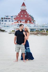 Save The Date Photos at Coronado Beach by AlohaBug Photography