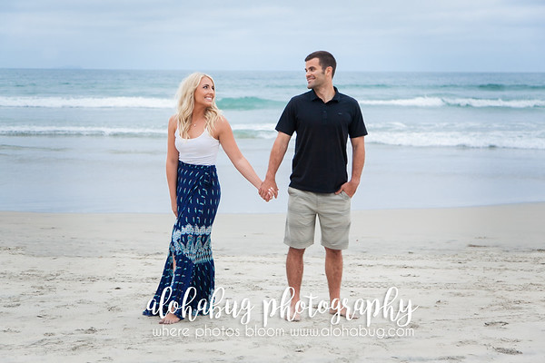 Save The Date Photos at Coronado Beach by AlohaBug Photography