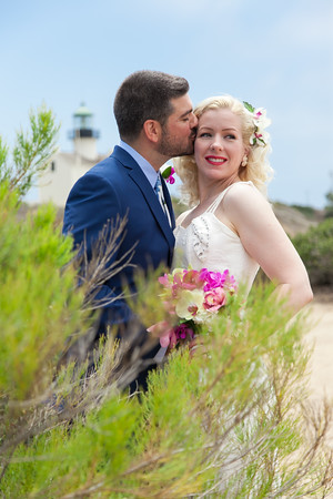 Wedding Photos at Cabrillo National Park by AlohaBug Photography