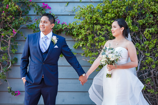 Marina Village Wedding Photos by AlohaBug Photography
