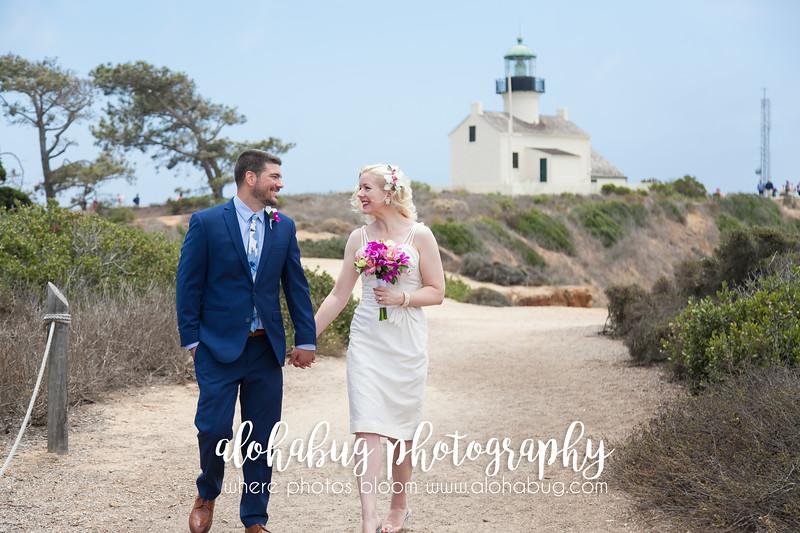 Wedding Photos at Cabrillo National Park by AlohaBug Photography