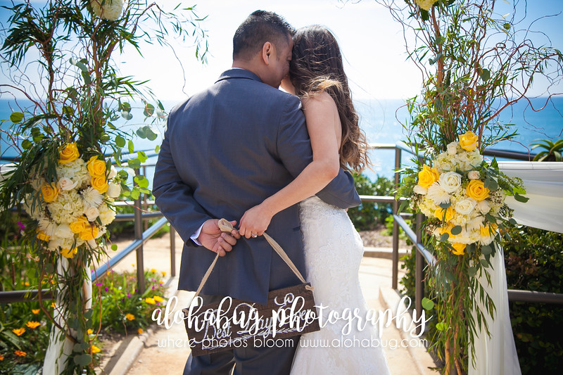 Crescent Bay Point Park Laguna Beach Wedding Photos by AlohaBug Photography