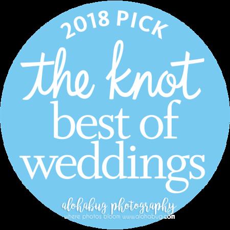 AlohaBug Photography | 2018 The Knot Best of Weddings