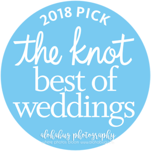 AlohaBug Photography | 2018 The Knot Best of Weddings