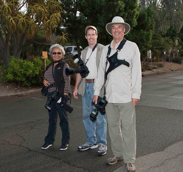 Elena, Gary, Steve