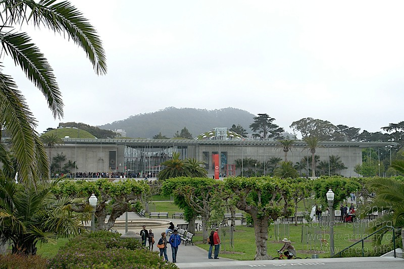 California Academy of Sciences in the Golden Gate Park
