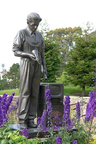 Philo Farnsworth, erste TV-Übertragung