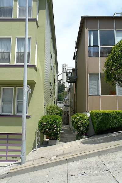 Windsor Place, San Francisco, on Telegraph Hill